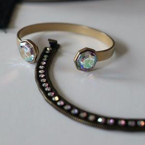 Loren Hope Clara Mini Bracelet & Cuff Duo 2Pc set